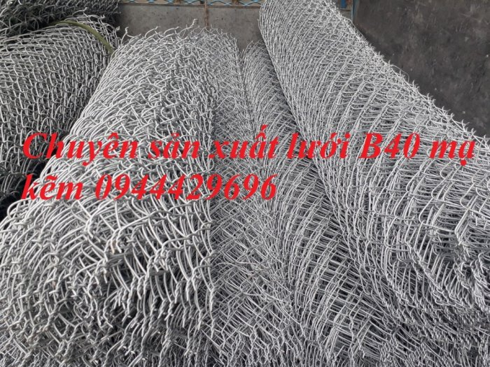 Lưới B40 mạ kẽm khổ 1.5m sẵn kho10