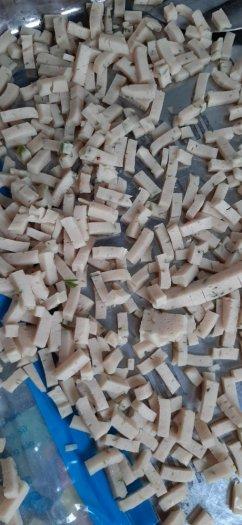 Máy thái hạt lựu chả cá, máy cắt chả cá hạt lựu, máy cắt lát hạt lựu chả cá6
