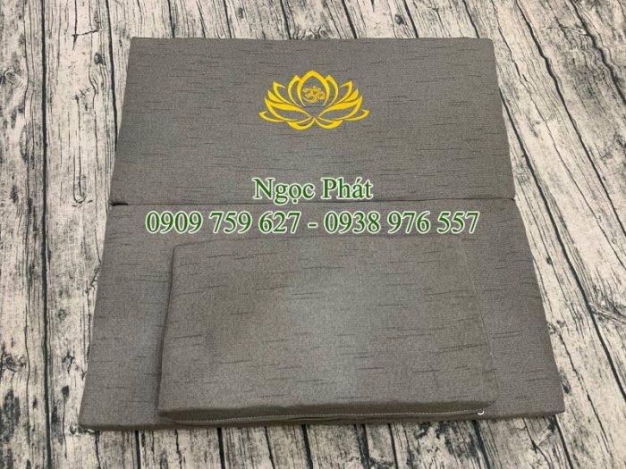 Nệm Ngồi Thiền Tọa Cụ Bồ Đoàn 70x70cm Đồ Thờ Cúng Phật18
