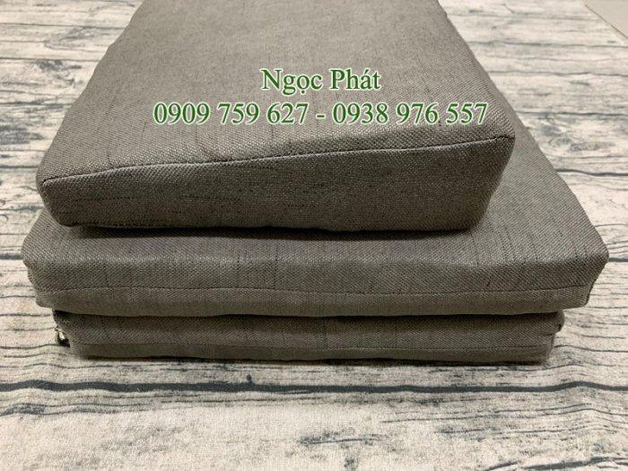 Nệm Ngồi Thiền Tọa Cụ Bồ Đoàn 70x70cm Đồ Thờ Cúng Phật5