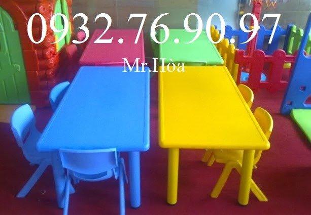 Bàn ghế học sinh,mầm non, bàn học giá rẻ cho bé2