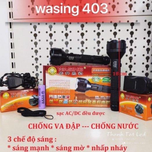 Đèn Sạc Pin Siêu Sáng Washing 4031