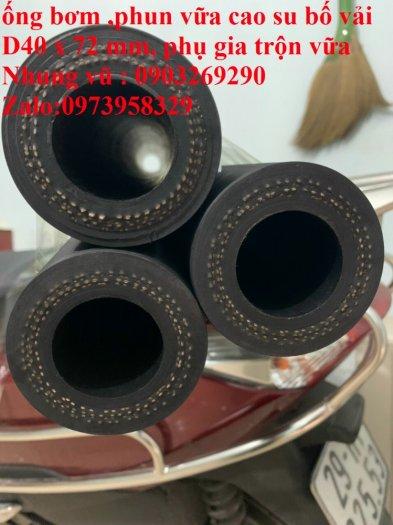 Ống cao su phun vữa bê tông - phụ gia trộn vữa đường kính 50 x 83 mm , 40 x 72 mm chiều dài 90 cm , 93 cm, 100cm7
