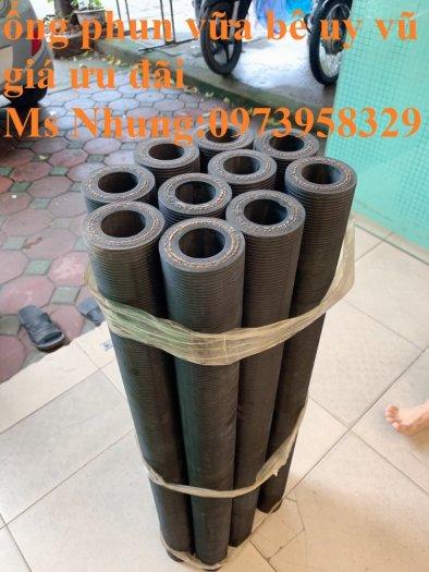 Ống cao su phun vữa bê tông - phụ gia trộn vữa đường kính 50 x 83 mm , 40 x 72 mm chiều dài 90 cm , 93 cm, 100cm2