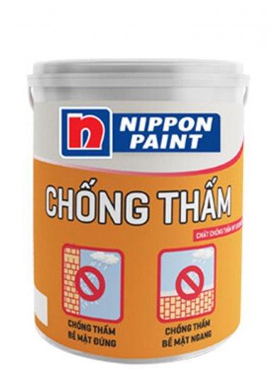 Chuyên bán Sơn kẻ vạch Nippon WP100 màu ghi giá rẻ0