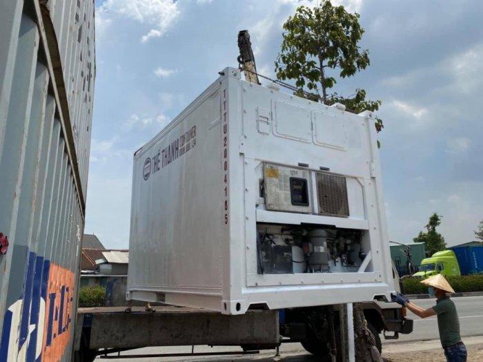 Container lạnh 10feet máy Daikin0