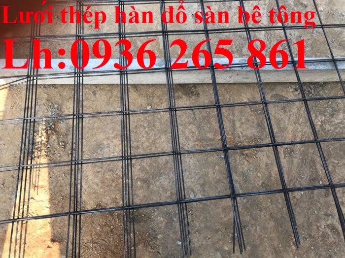 Sản xuất lưới thép hàn cường lực cao đổ sàn bê tông