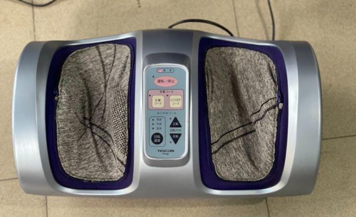 Máy massage chân Tescom-TS160 nội địa Nhật đẹp long lanh6