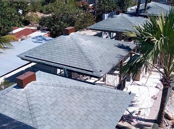 Giải pháp lợp mái bê tông, mái biệt thự tân cổ điển8