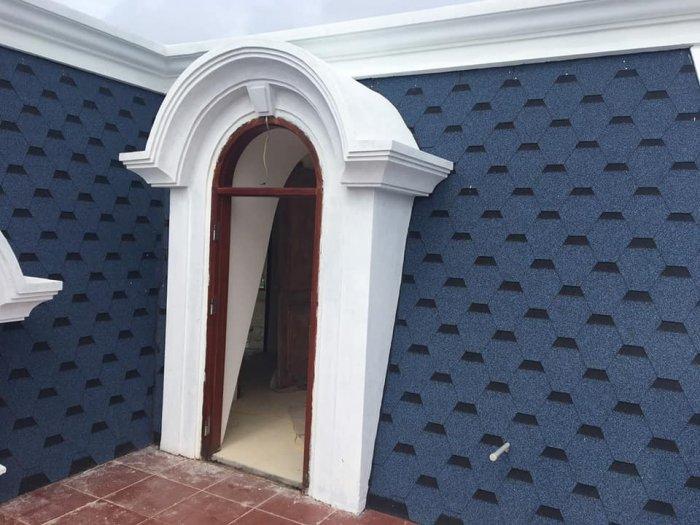 Giải pháp lợp mái bê tông, mái biệt thự tân cổ điển5
