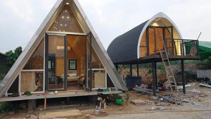 Giải pháp lợp mái bê tông, mái biệt thự tân cổ điển3