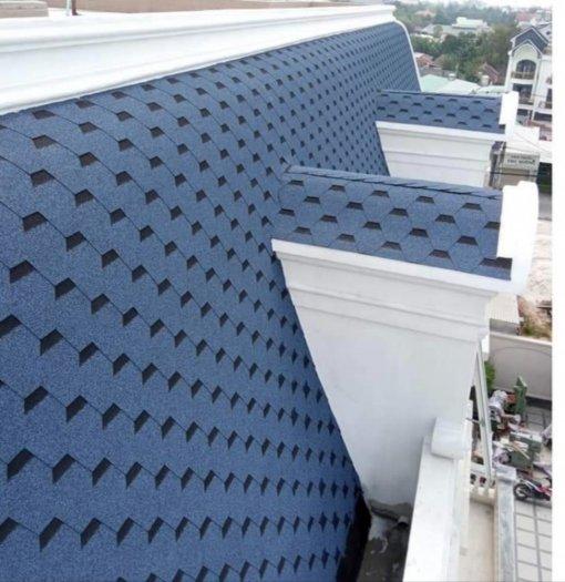 Giải pháp lợp mái bê tông, mái biệt thự tân cổ điển2