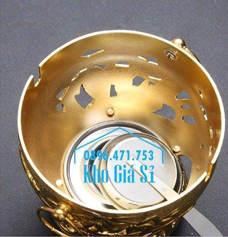 Nồi lẩu 1 người mạ vàng - nồi lẩu 1 người bằng inox 304 - nồi lẩu 1 người ăn đẹp tại HCM4