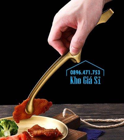 Kẹp gắp BBQ kiểu Nhật bằng inox 304 - kẹp gắp Nhật bằng inox cao cấp10