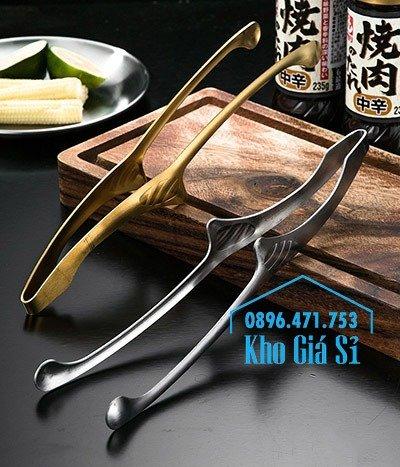Kẹp gắp BBQ kiểu Nhật bằng inox 304 - kẹp gắp Nhật bằng inox cao cấp0