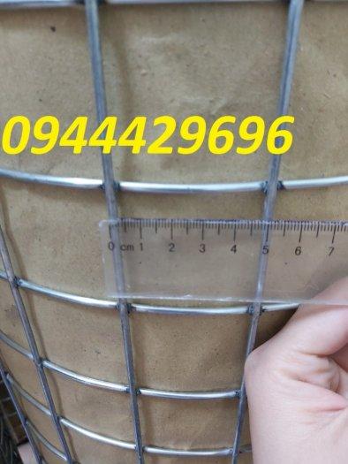 Lưới hàn phi 3 ô 50x50 khổ 1m, 1,2m, 1,5m mạ kẽm  hàng sẵn kho9