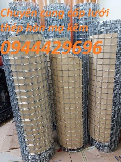 Lưới hàn phi 3 ô 50x50 khổ 1m, 1,2m, 1,5m mạ kẽm  hàng sẵn kho8