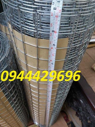 Lưới hàn phi 3 ô 50x50 khổ 1m, 1,2m, 1,5m mạ kẽm  hàng sẵn kho5