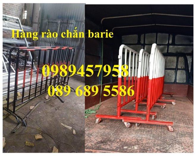 Gia công hàng rào chắn tạm thời, Hàng rào giãn cách dịch Covid 1,2mx2m, 1mx2m8