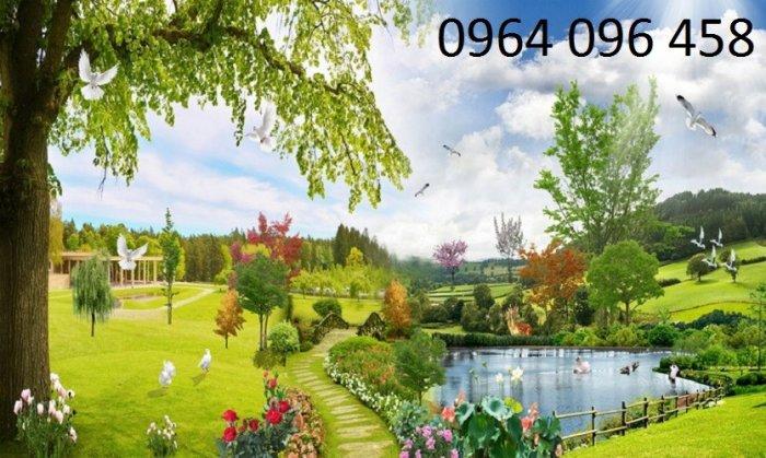 Tranh gạch 3d - gạch tranh 3d phong cảnh - ABN437