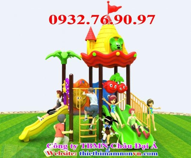 Cầu trượt cho trẻ em chơi ngoài trời2