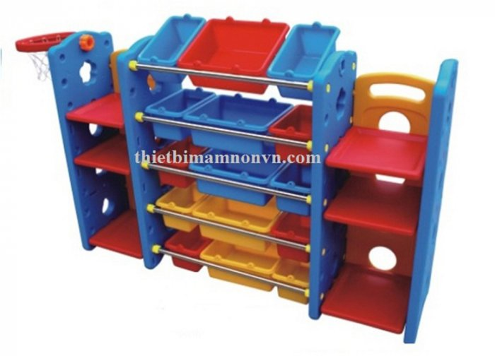 Kệ đựng đồ chơi siêu tiện lợi cho các bé nhỏ2