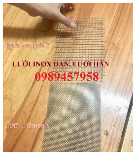 Lưới inox chống muỗi khổ 1,5mx30m, Lưới chống côn trùng inox31615