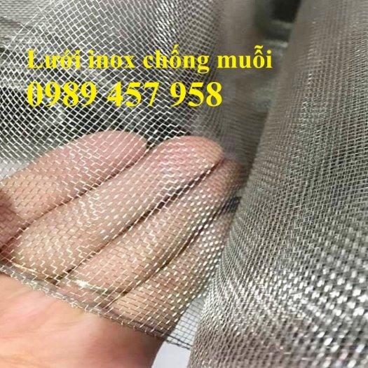 Lưới inox chống muỗi khổ 1,5mx30m, Lưới chống côn trùng inox31613