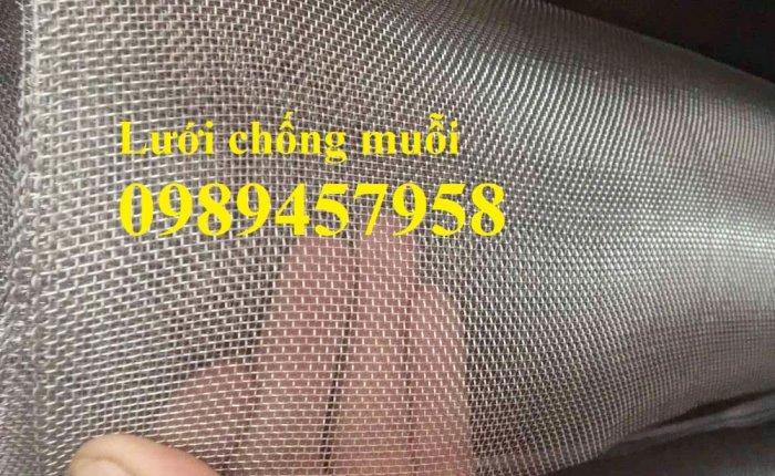 Lưới inox chống muỗi khổ 1,5mx30m, Lưới chống côn trùng inox31611