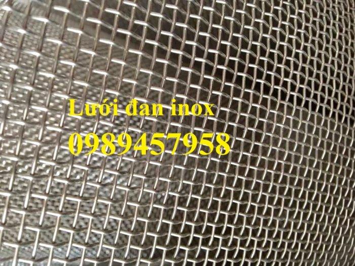 Lưới inox chống muỗi khổ 1,5mx30m, Lưới chống côn trùng inox31610
