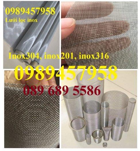 Lưới đan inox 304 Phi 0.5ly, Lưới inox 304 Phi 1.2ly ô 2x2ly, 8x8, 15x15, 20x20, 40x406