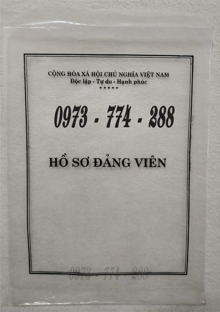 Phong bì đựng hồ sơ đảng viên5