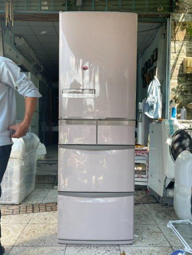 Tủ lạnh HITACHI R-S42AML - 415Lít- 5 cánh - date 201110