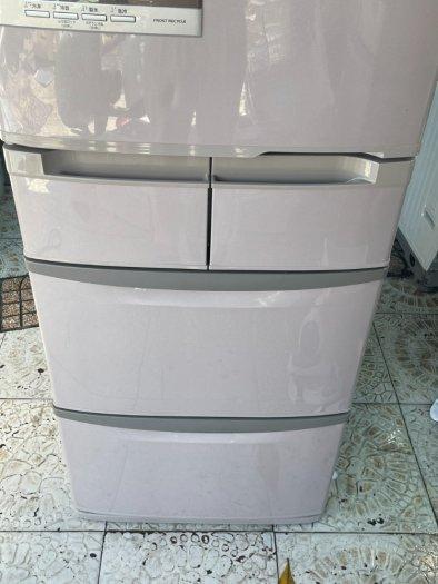 Tủ lạnh HITACHI R-S42AML - 415Lít- 5 cánh - date 20118