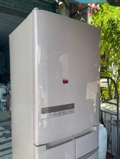 Tủ lạnh HITACHI R-S42AML - 415Lít- 5 cánh - date 20117