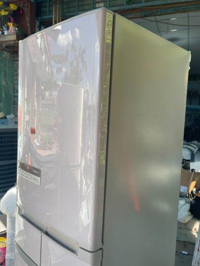 Tủ lạnh HITACHI R-S42AML - 415Lít- 5 cánh - date 20116
