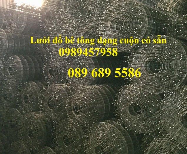 Lưới thép hàn chống thấm D3, D4, Lưới chống nứt bê tông phi 3, phi 4 a 200x200, 250x2500