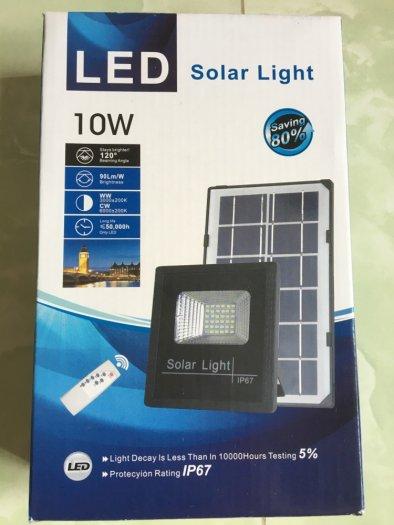 Bóng tích điện năng lượng mặt trời 10W có điều khiển0