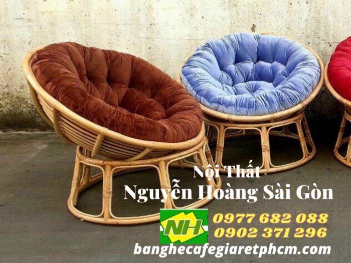 Ghế gỗ nệm thư giãn giá rẻ1