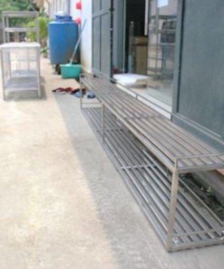 Kệ bếp công nghiệp inox Hải MInh8