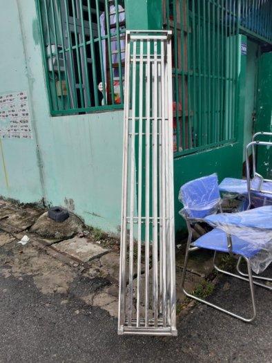 Kệ inox cất đồ nhà bếp Hải Minh HM 0018