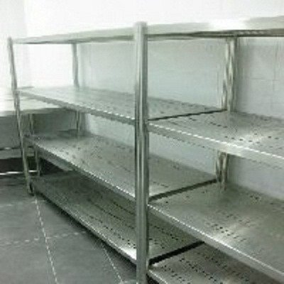 Kệ inox cất đồ nhà bếp Hải Minh HM 0015
