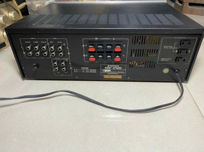 AMPLI PIONEER SA-7800II JAPAN4