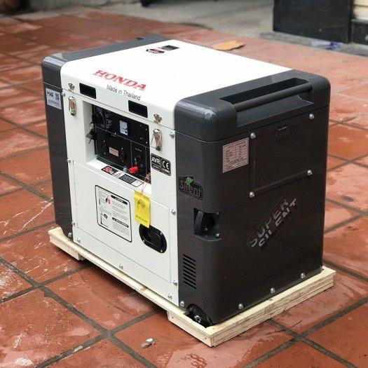 Máy phát đện chạy dầu 5kw,máy phát điện chạy được điều hòa5