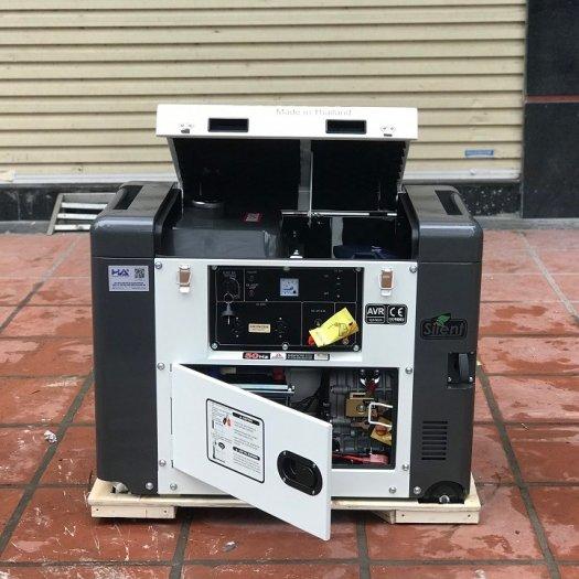Máy phát đện chạy dầu 5kw,máy phát điện chạy được điều hòa4