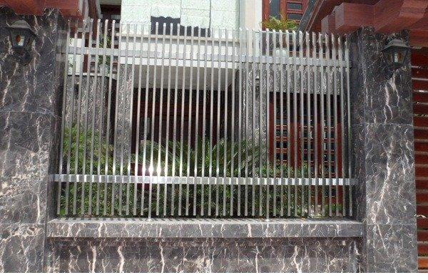 Hàng rào bảo vệ ngôi nhà Hải Minh8