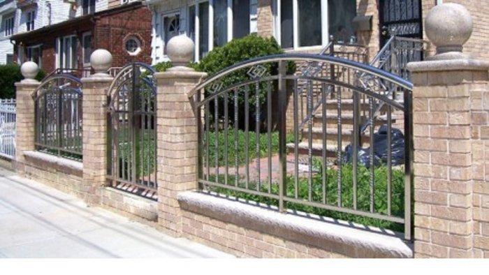 Hàng rào bảo vệ ngôi nhà Hải Minh3