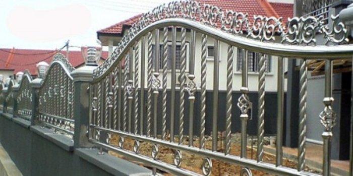 Hàng rào bảo vệ ngôi nhà Hải Minh2