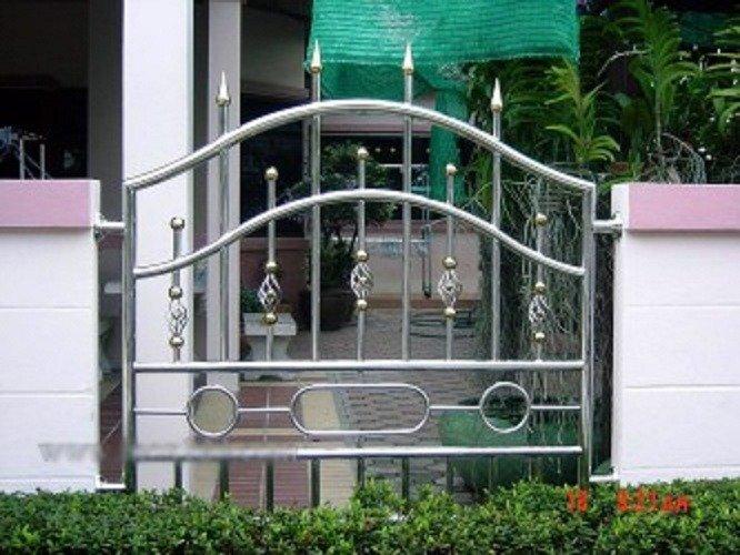 Hàng rào bảo vệ ngôi nhà Hải Minh1
