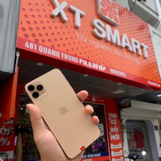 Iphone 11 promax 64g quốc tế zin all, pin 90%0